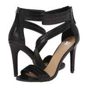 Joe's Jeans  Black Ankle Strap High Heel Size 9